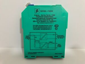 New Pepperl Fuchs Transformer Isolated Driver Khd3 icd ex132 71000
