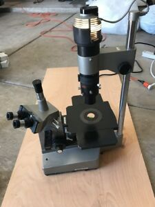 Olympus Im Inverted Microscope W Objectives