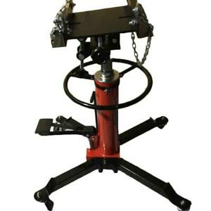 A 1500lbs Transmission Jack 2 Stage Hydraulic W 360for Car Lift Auto Lift