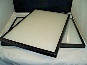 Two Jewelry Display Case Riker Mount Display Box Shadow Box Size 14 X 20 X 7 8