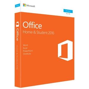 Microsoft Office Home Student 2016 Dvd Version shipped By Dhl Express