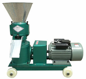 120 Animal Livestock Feed Pellet Mill pellet Press Production Max 100kg h