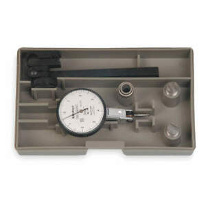 Mitutoyo Dial Test Indicator Set hori 0to0 008 In 513 403 10t