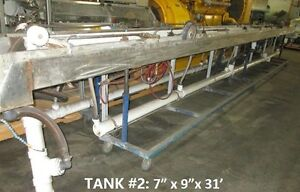 2 Extruder Stainless Steel 31 Foot Water Tanks