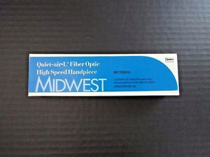 Midwest Quiet air l High Speed Handpiece Power Lever Fiber Optic New