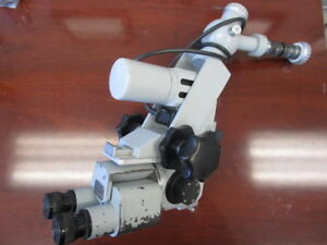 Carl Zeiss Surgical Microscope F 160 Optics Head