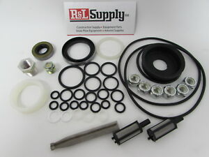 Meyer Snow Plow Pump E46 E47 E57 Deluxe Seal Kit Filters Pump Seal Guide 15254