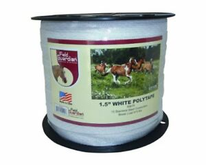 New Field Guardian Polytape 1 5 inch White Free2dayship Taxfree
