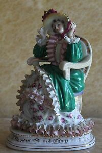 French Porcelain Figurine Statue