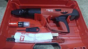 Hilti Dx 460 Powder Actuated Tool Kit In Plastic Case With X 460 f8 New Others