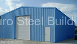 Durobeam Steel 25x50x10 Metal Rigid Frame Garage Workshop Building Kit Direct