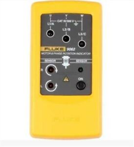 Fluke 9062 Motor And Phase Rotation Indicator Tester With Soft Case New F9062 My