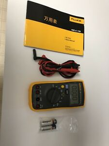 Fluke 15b F15b Digital Multimeter Meter Used