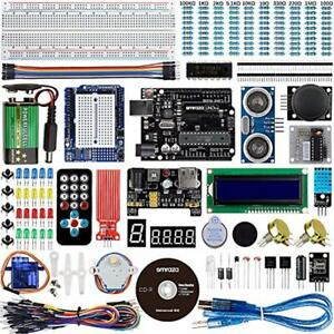 Smraza For Arduino Uno Starter Kit With Tutorials Compatible R3 Mega2560 And