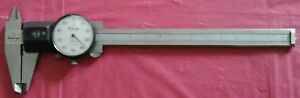 Mitutoya 6 Vintage Dial Caliper 537 110 With Cover
