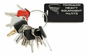 Tornado Heavy Equipment Parts Construction Equipment Master Keys Set ignition