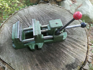 Machinist Quick Release Slide Vise Drill Press Vice 3 Jaw Heinrich Type
