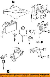 Porsche Oem 95 98 911 Abs Anti Lock Brake System Regulator 99335530501