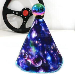 Jdm Universal Colourful Racing Camo Oxford Fabric Shift Boot Shift Knob Cover