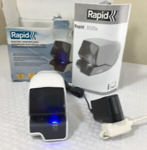 Rapid 5080e Professional Electric Cartridge Stapler Excellent Condition Tested