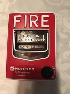 Notifier Nbg 12lx Fire Alarm Pull Station