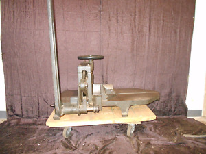 Challenge Style 193 Guillotine Paper Cutter Industrial Vintage Cast Iron Antique