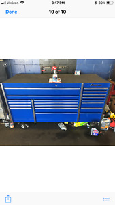 Snap On Toolbox Krl7023 Master Series Blue Excellent Condition