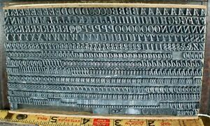18pt Atf Century Expanded Italic 9a 20a Metal Letterpress Type
