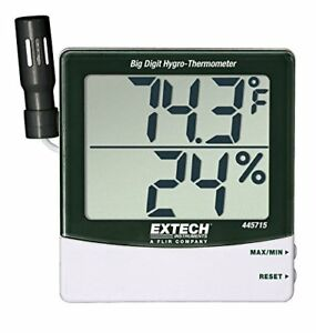 New Extech 445715 Big Digit Hygro thermometer Free2dayship Taxfree