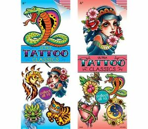 Sticker Flat Vending Machine Capsule Toys Ultra Tattoo Classic