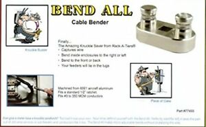 Rack a tiers 77455 Bend all Knuckle Saver Bend Wire Sizes 3awg 500mcm Inside