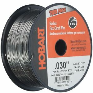 Hobart H222106 rtp 0 030 inch 4 pound E71t 11 Flux cored Welding Wire