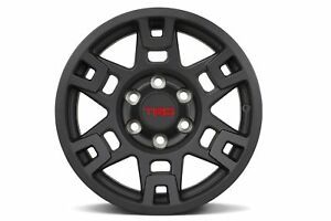 2012 2017 Toyota 4runner 17 Inch Trd Black Wheels Single