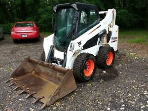 2013 Bobcat S530 Skid Steer Loader 1592 Hrs Enclosed Cab With Heat Runs Well