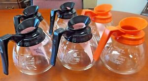 6 Pack 12 Cup Commercial Coffee Pots decanters For Bunn Regular