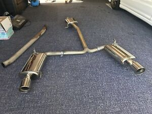 04 08 Acura Tl Comptech Ct Engineering Catback Exhaust