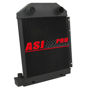 Full Aluminum Tractor Radiator For Dexta Super Dexta Ford 957e8005 Cc957e8005