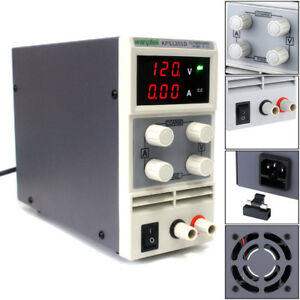 Kps1201d High Voltage Adjustable Digital Mini Dc Power Supply Output 0 120v 0 1a