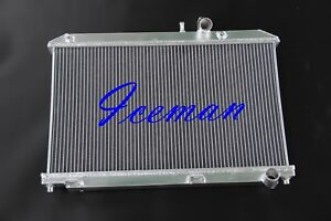 2 Rows 2004 2008 Fit For Mazda Rx8 All Aluminum Racing Radiator