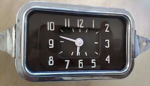 1937 Chevrolet Clock Excellent Fully Reconditioned Fits 1938 1939 1940 Chevy