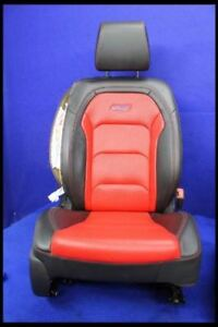 2016 2018 Chevrolet Camaro Ss Red Leather Passenger Front Seat Bucket Coupe