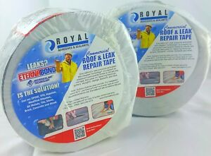 Eternabound 2rolls Of Commercial rv Mobile Home Roof Leak Repair Tape 2 x50