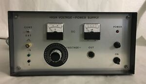Netzgerat High Voltage Power Supply Type F Power Cord europe laboratory Power