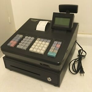 Sharp Xe a23s Cash Register Gently Used Works Great B