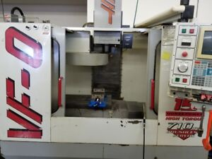 Used Haas Vf 0 Cnc Vertical Machining Center Mill 20x16 Machine 4th Ready Ct 97