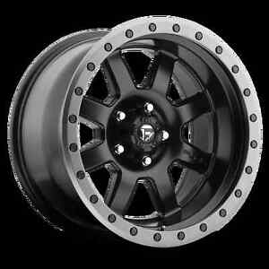 5 17 Fuel Trophy Black Wheels Jeep Wrangler Jk Jl 35 Atturo Xt Tires Package