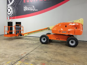 2004 Jlg 400s 500lb Pneumatic Telescopic Boom Lift Diesel 4x4 Aerial Lift