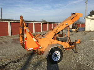 2008 Altec Environmental Products Wc126 Woodchipper 12 Drum Forestry Chipper