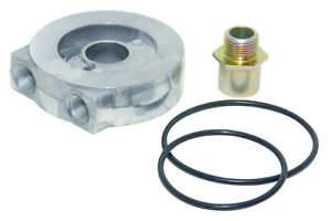 Perma cool 13 16 16 In Center Thread Sandwich Oil Filter Adapter P n 184