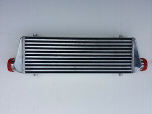 Universal 27x7 5x2 5 Air To Air Intercooler 2 5 End Tank Bar Plate